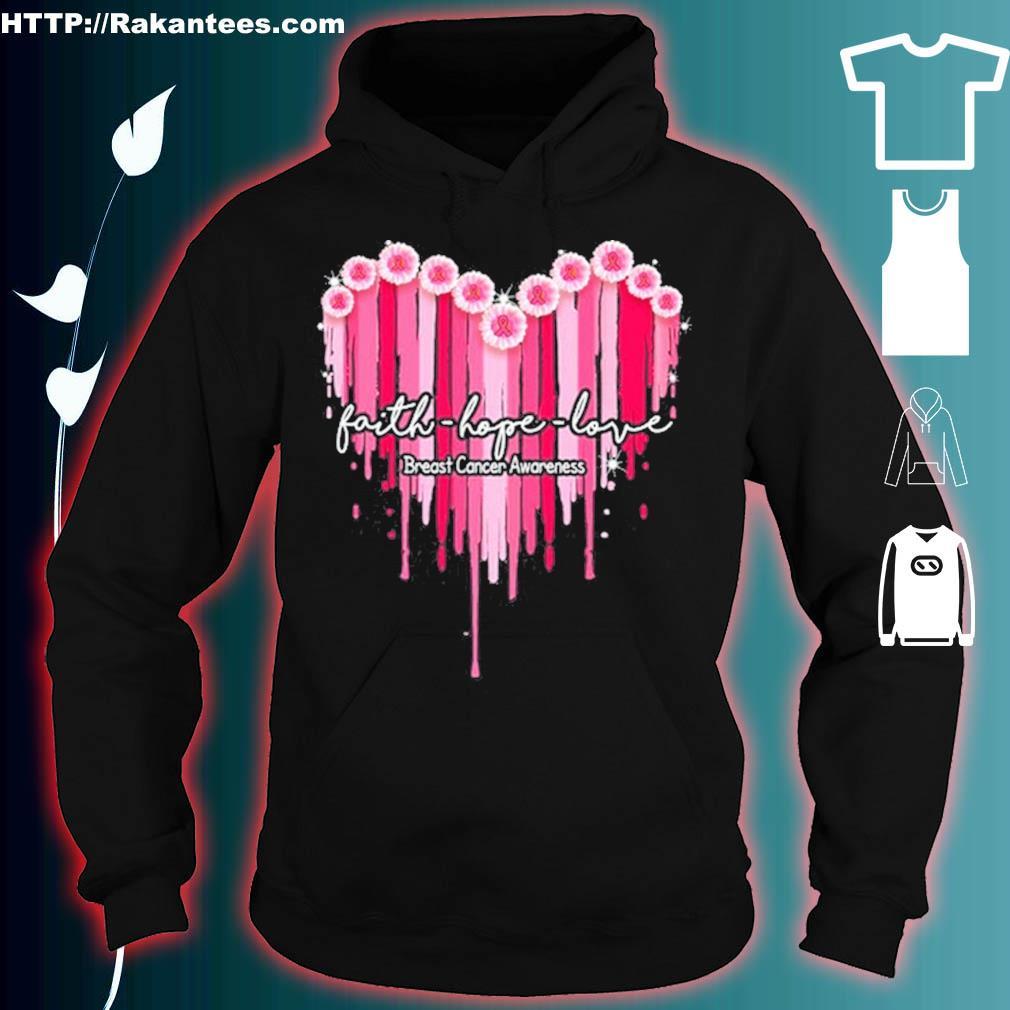 Faith Hope Love Breast Cancer Awareness Classic T-s hoodie