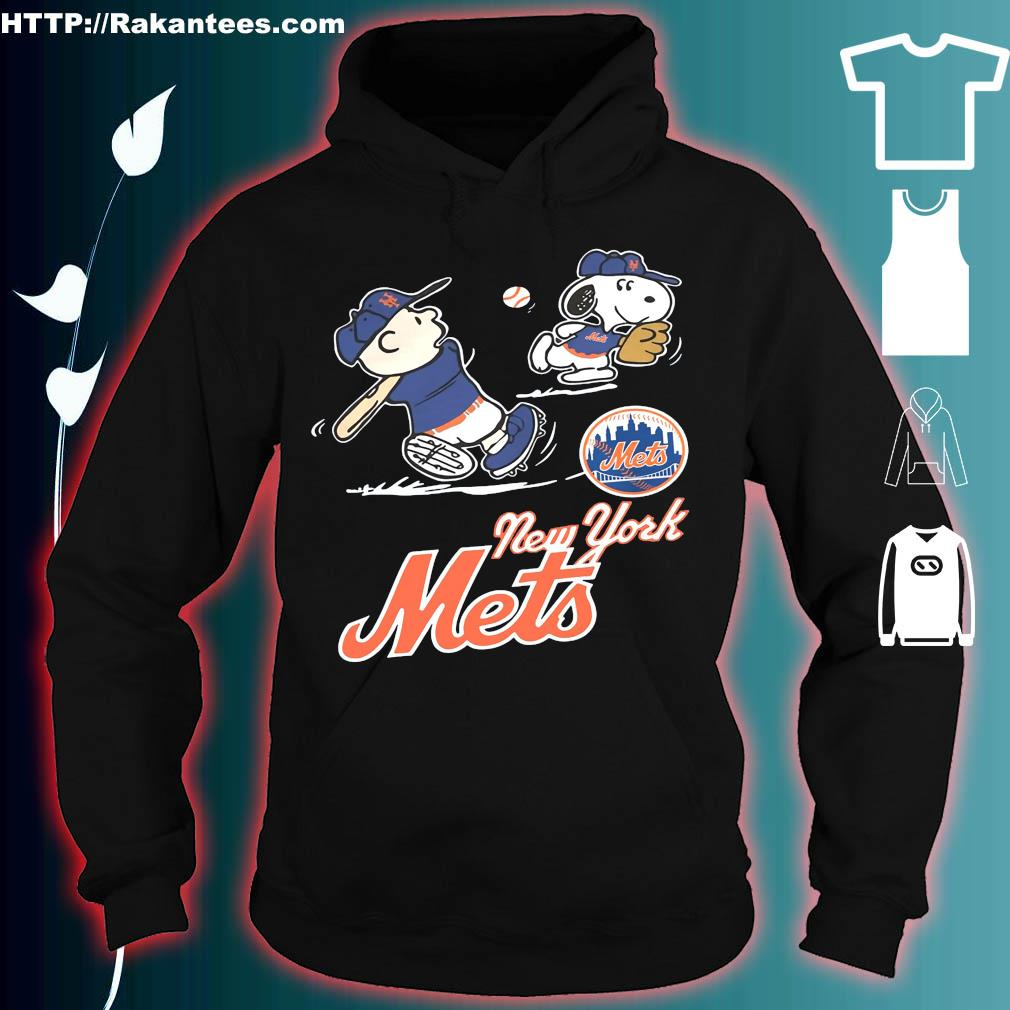 Official Charlie Brown and Snoopy and New York Mets hoodie