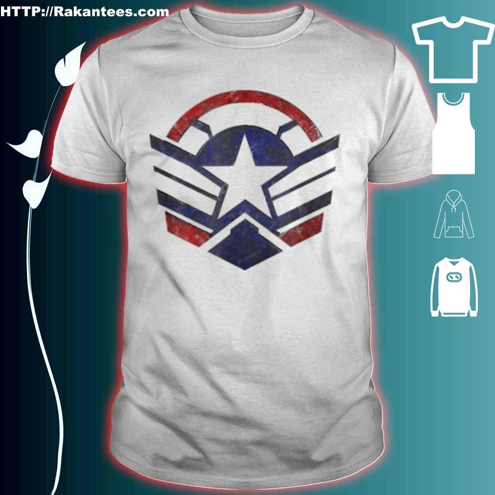 The Falcon And The Winter Soldier Captain America Star Icon Shirt