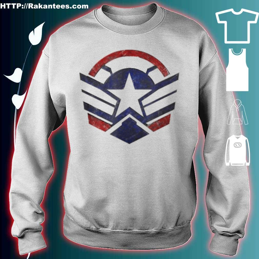 The Falcon And The Winter Soldier Captain America Star Icon Shirt sweater