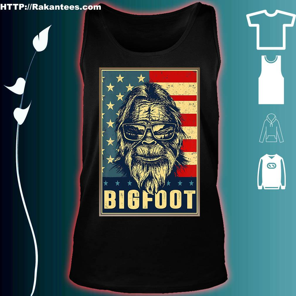 Official Bigfoot American Shirt tank top