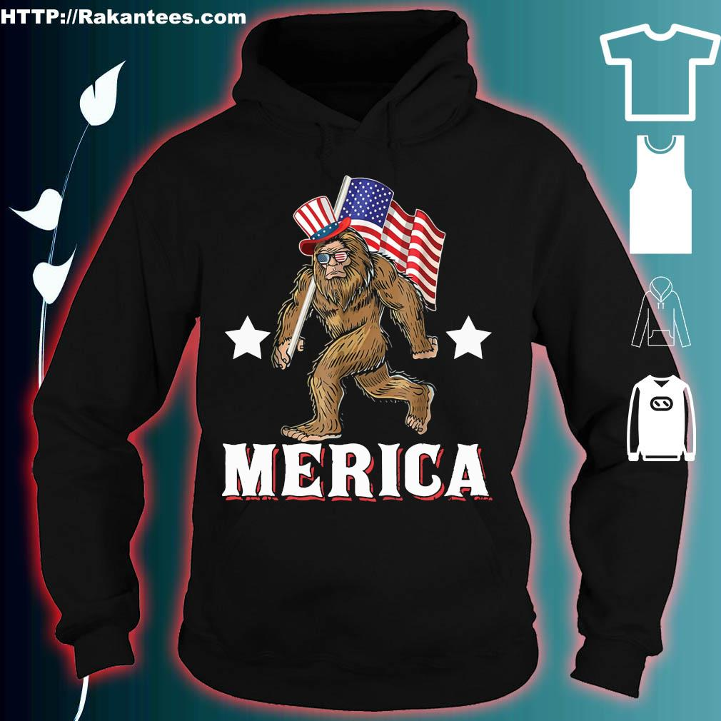 Official Bigfoot victory merica s hoodie