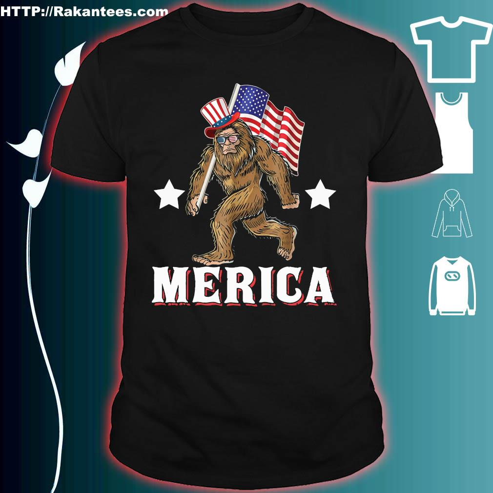 Official Bigfoot victory merica shirt