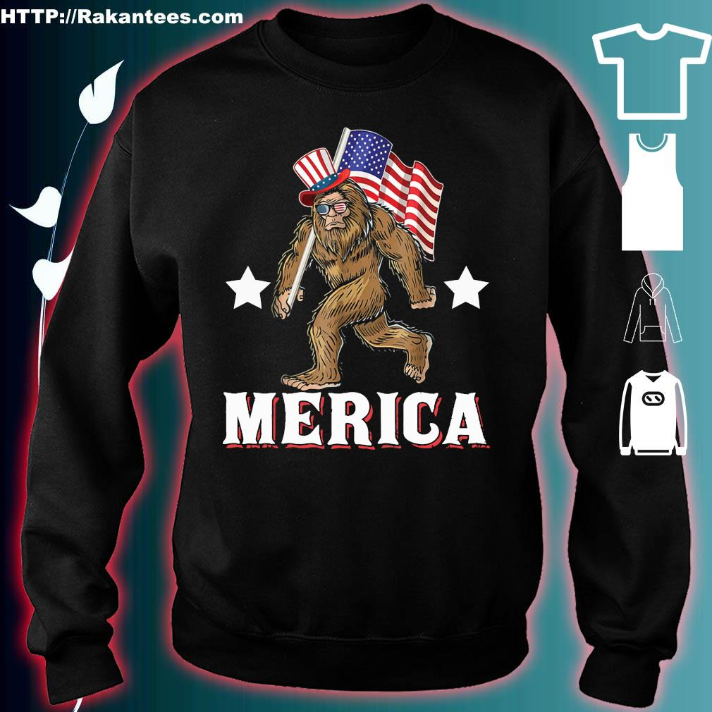 Official Bigfoot victory merica s sweater
