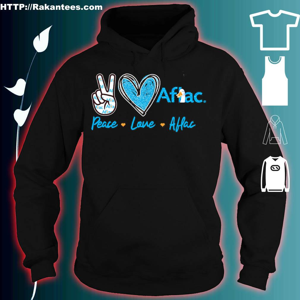 Peace Love Aflac Diamond Shirt hoodie
