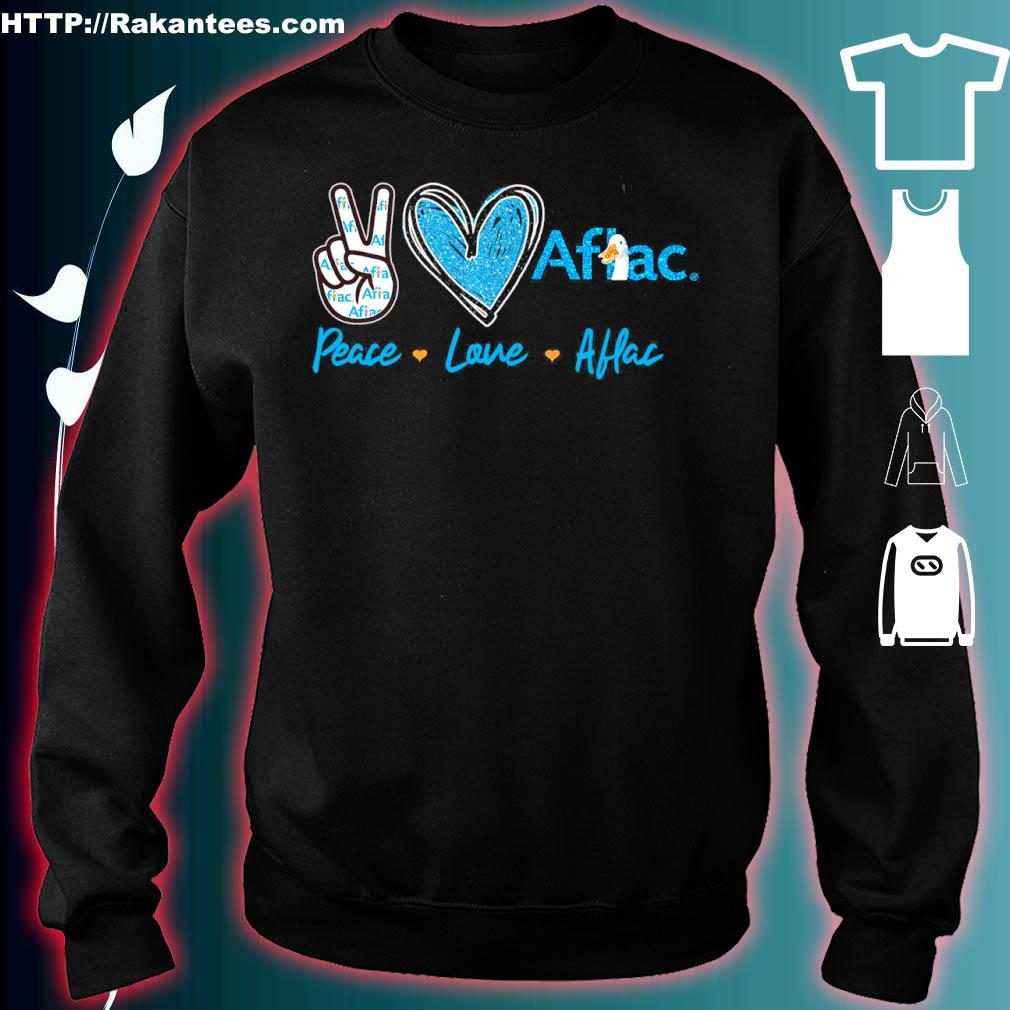 Peace Love Aflac Diamond Shirt sweater
