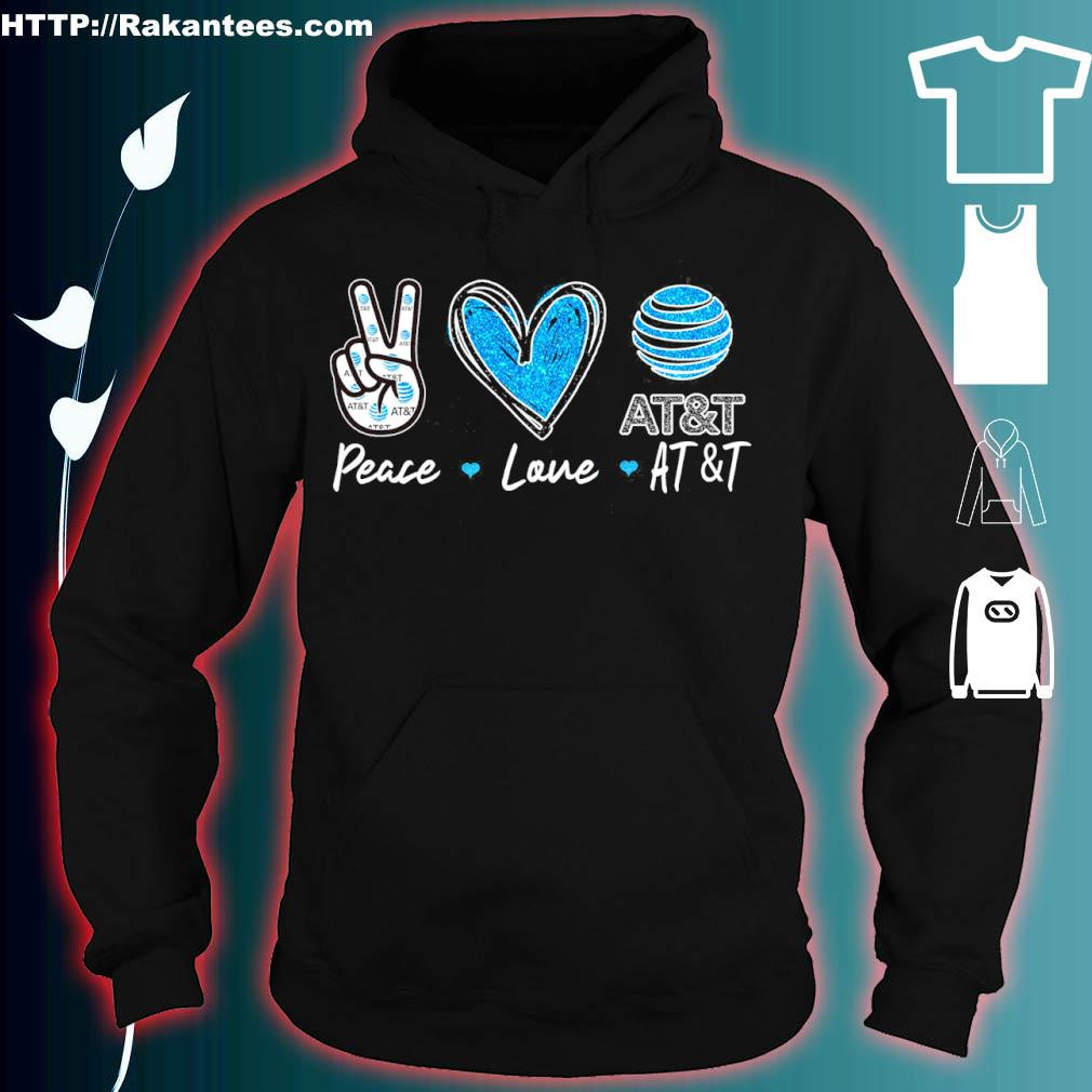 Peace Love At_t Diamond Shirt hoodie