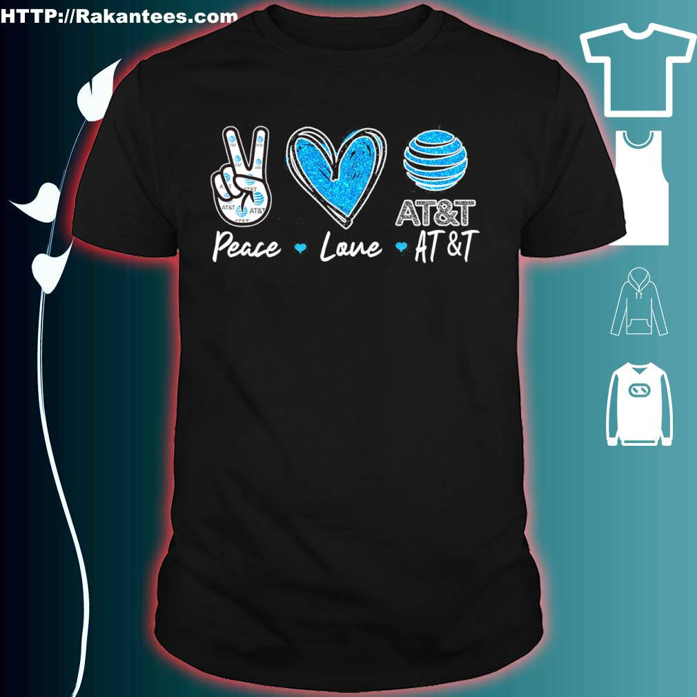 Peace Love At_t Diamond Shirt