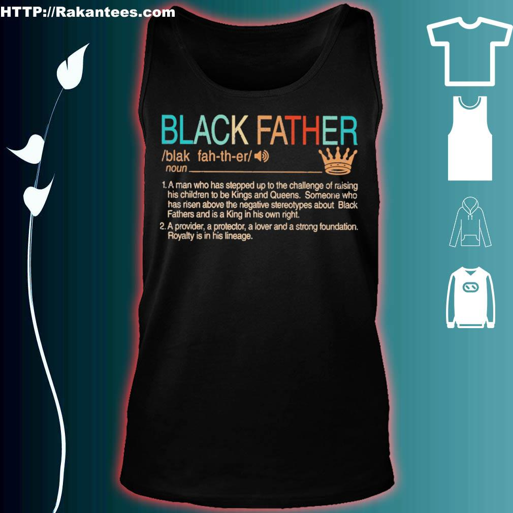 Black Father Definition vintage s tank top