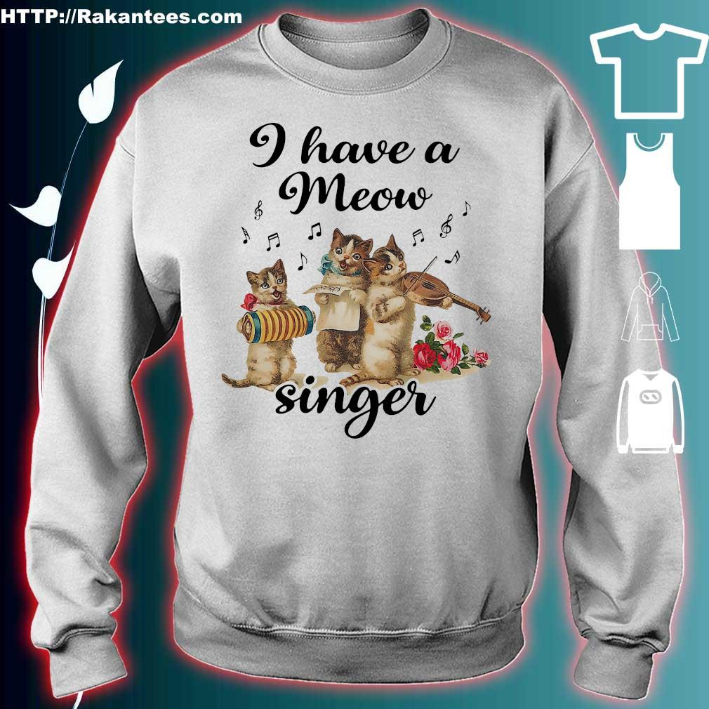 Cat I have a meow singer s sweater