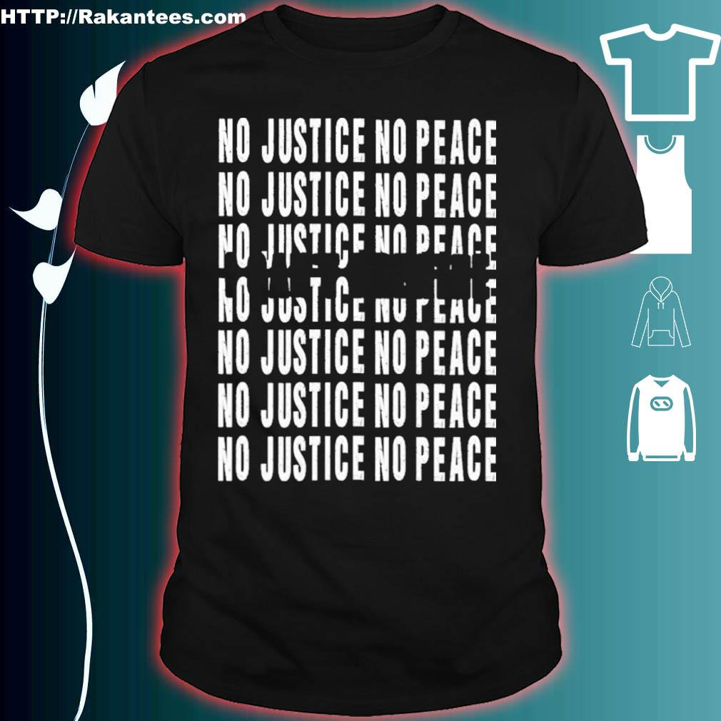 I can't Breathe no justice no peace Shirt