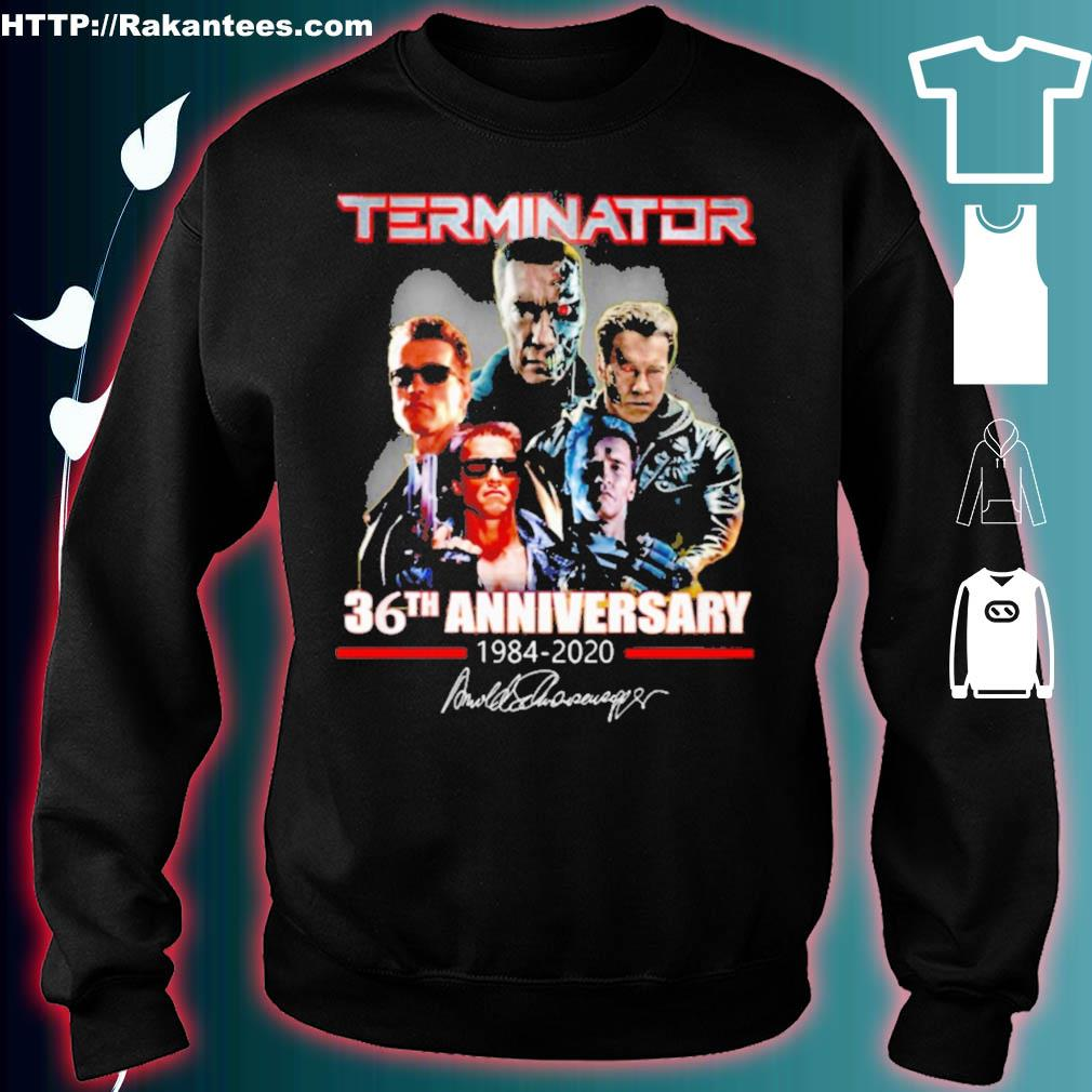 Terminator 36th Anniversary 1984 2020 signature s sweater