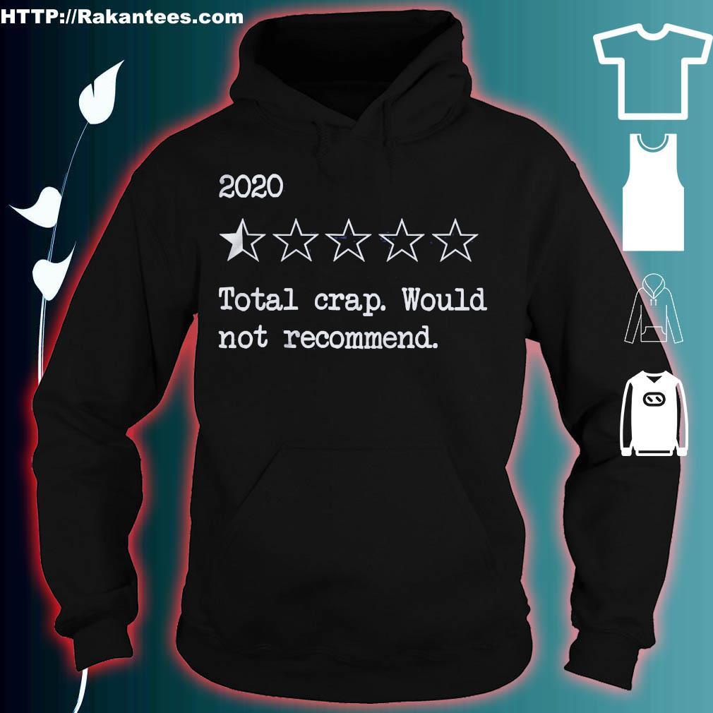 2020 Total crap would not recommend s hoodie