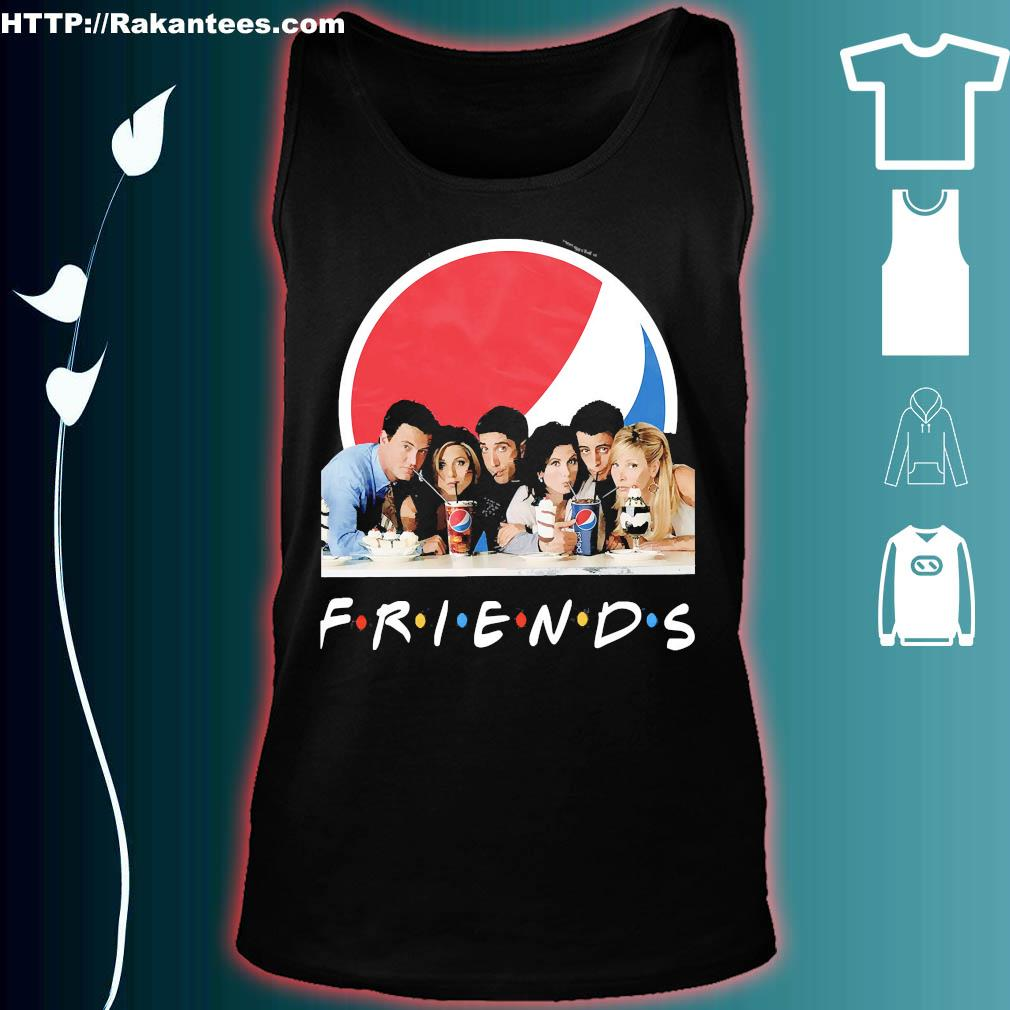 Friends character Pepsi s tank top
