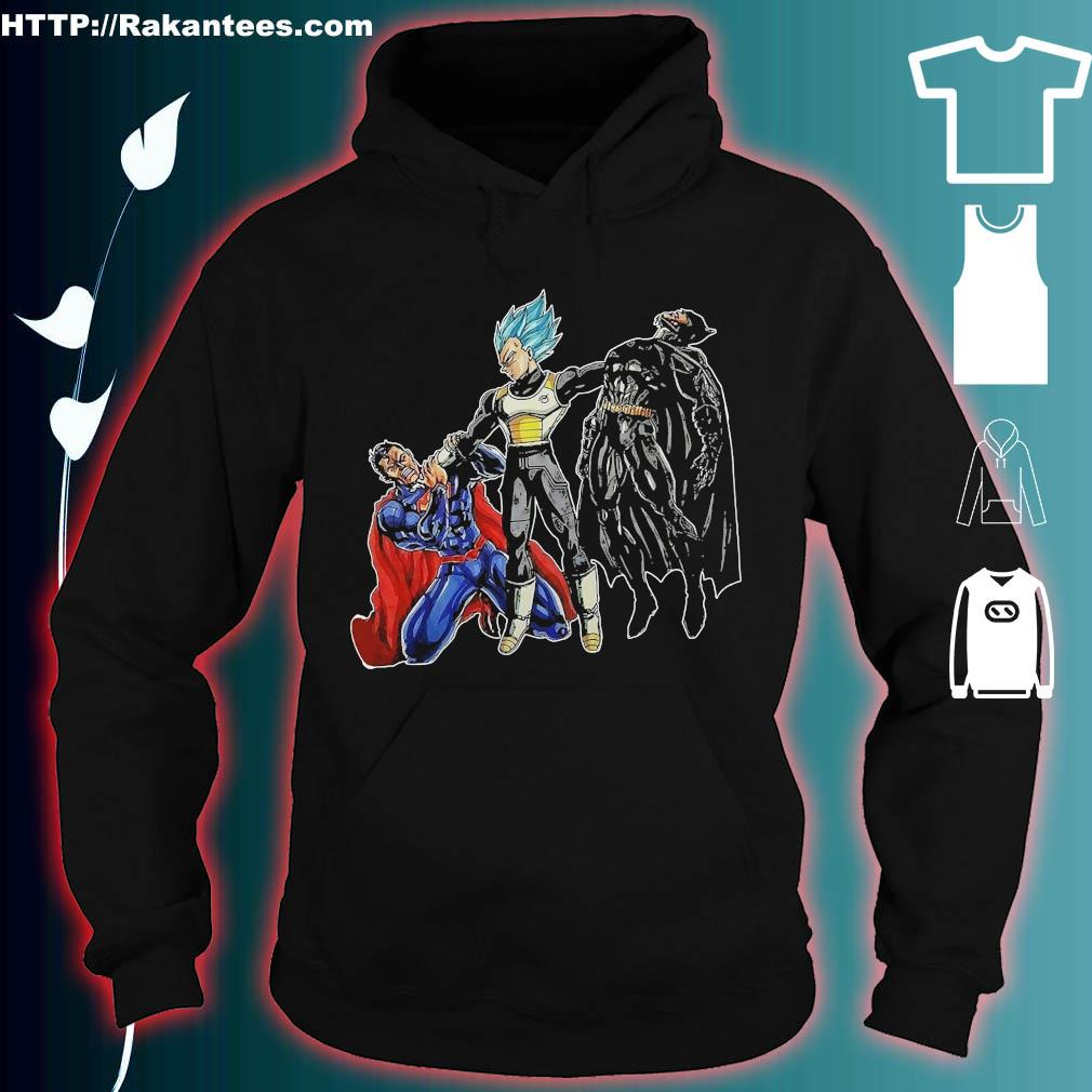 Goku Vegeta vs Superman Batman s hoodie