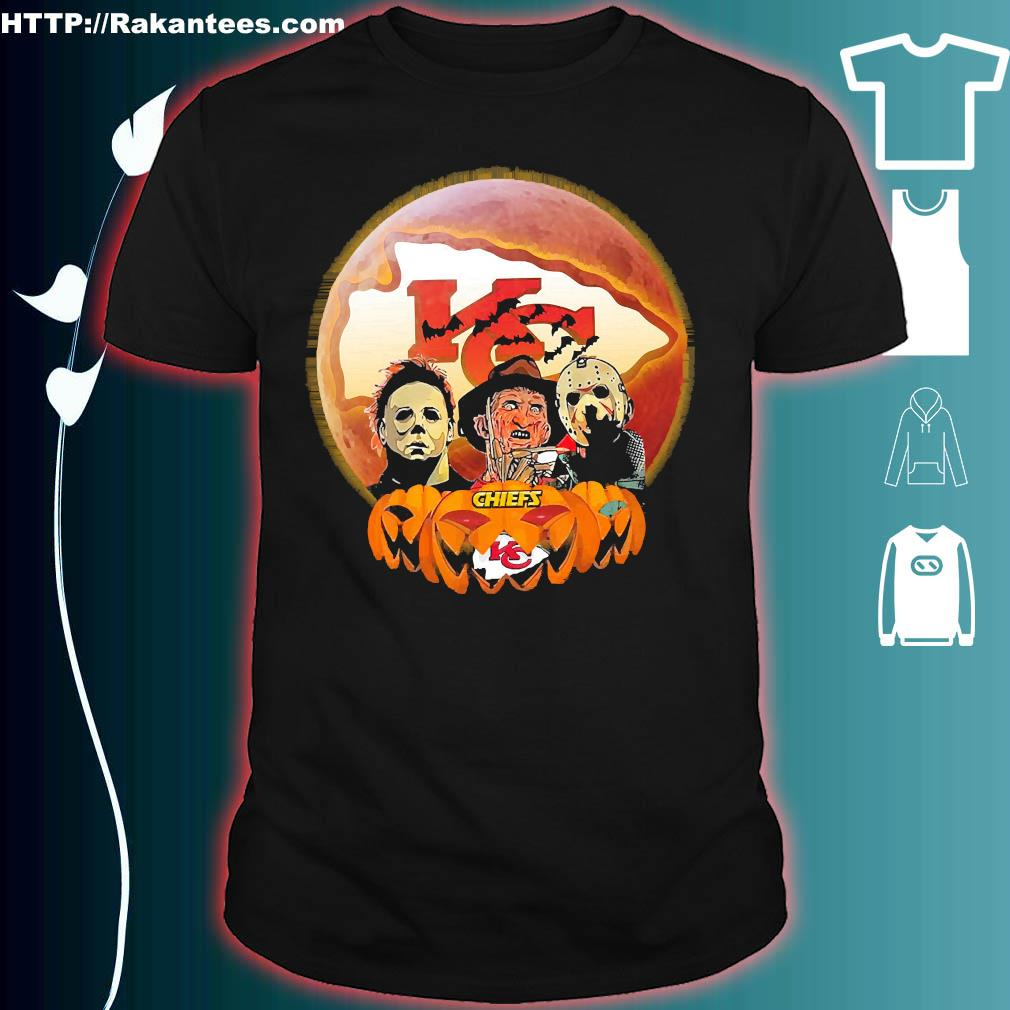 Horror character halloween Chiefs shirt
