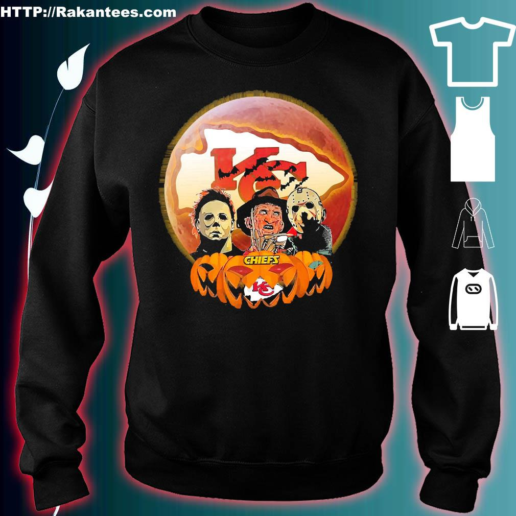 Horror character halloween Chiefs s sweater