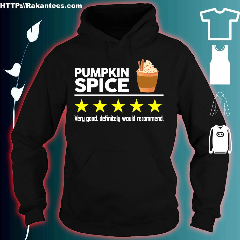 Pumpkin Spice very good definitely would recommend s hoodie