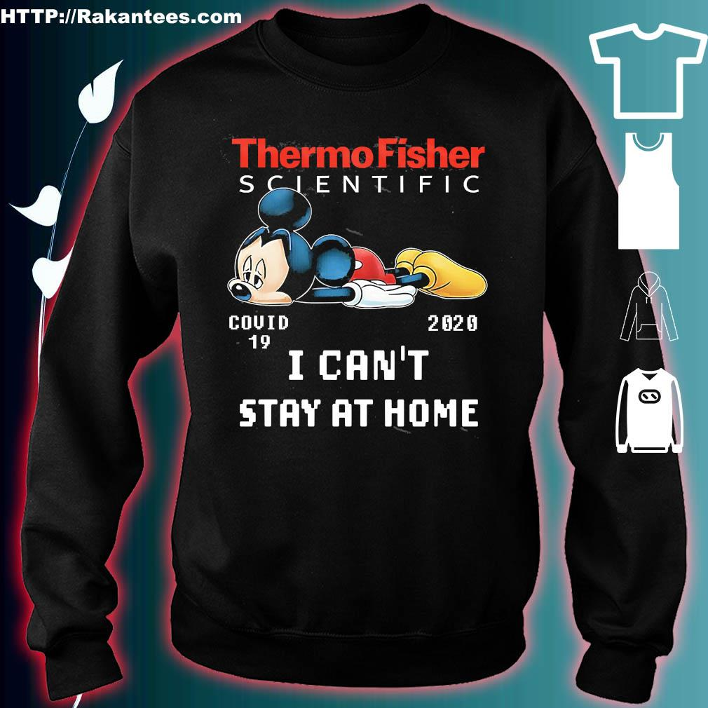 Thermo fisher scientific Mickey Mouse covid 19 2020 I can't stay at home s sweater