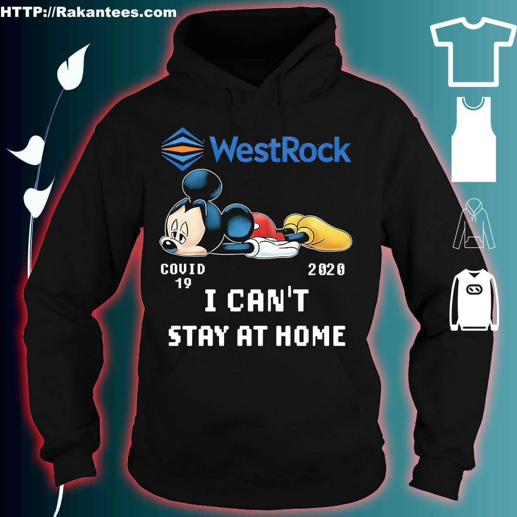WestRock Mickey Mouse covid 19 2020 I can't stay at home s hoodie