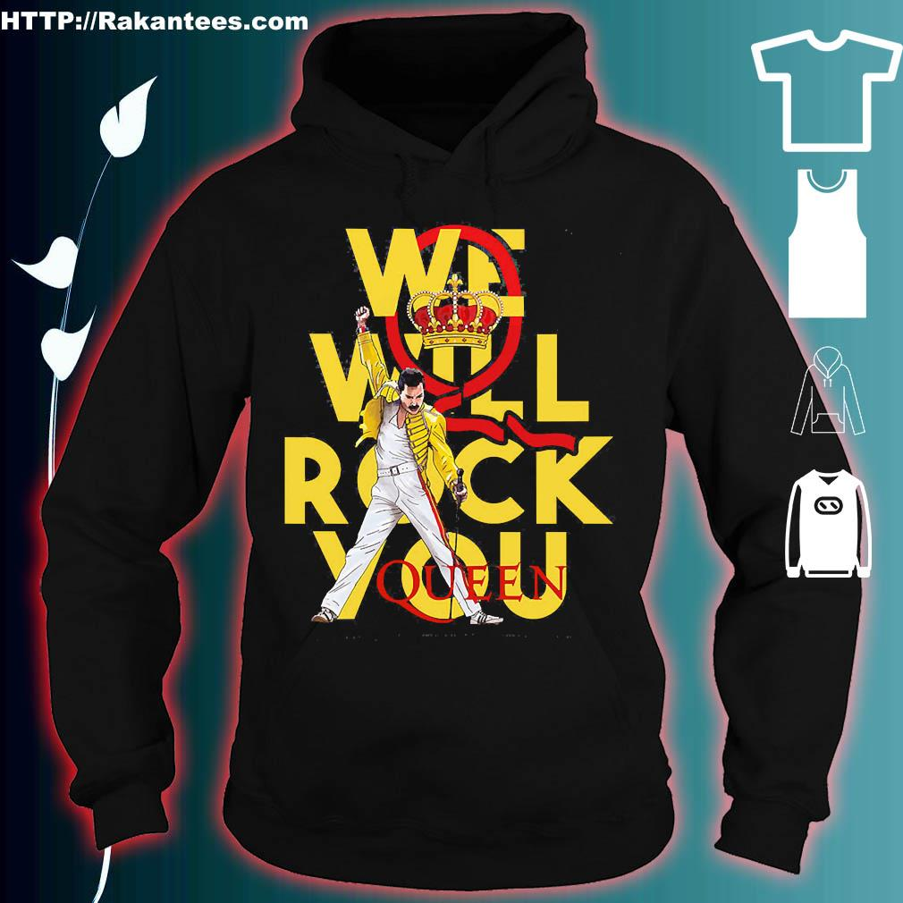 We will rock You Queen s hoodie