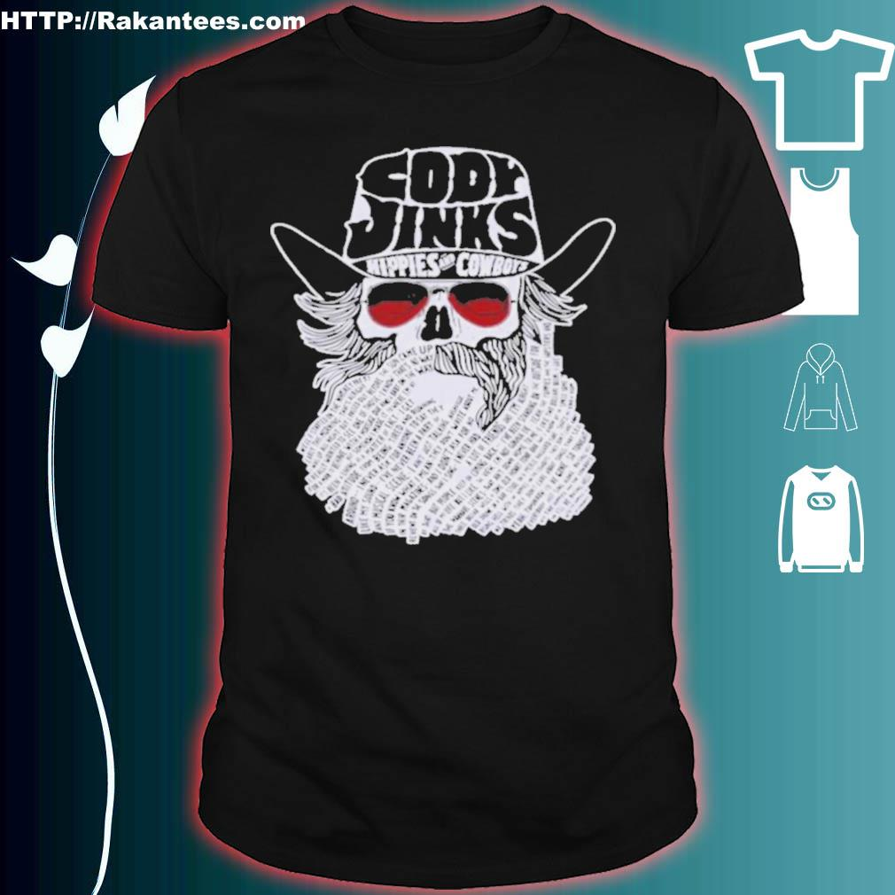 Official Cody Jinks Hippies And Cowboys Shirt
