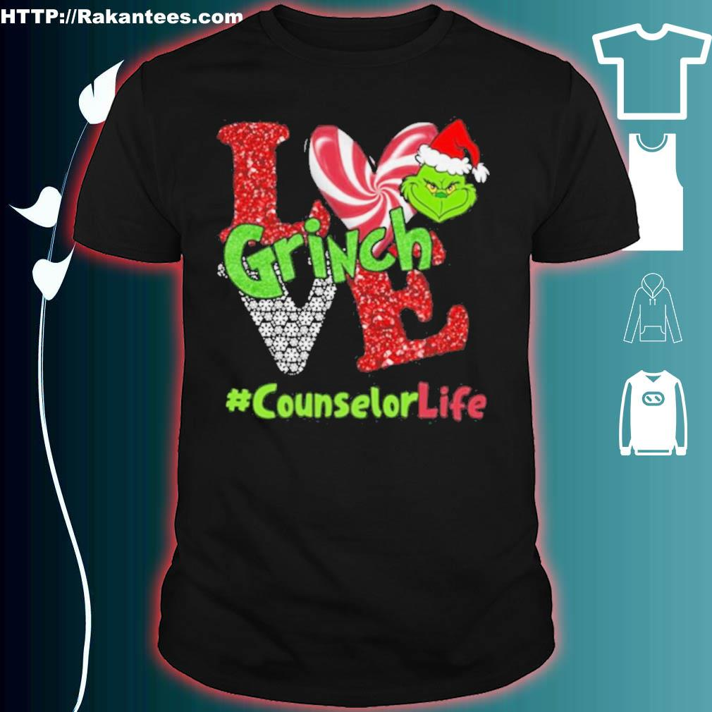 Official Love Grinch #counselorlife Christmas Shirt