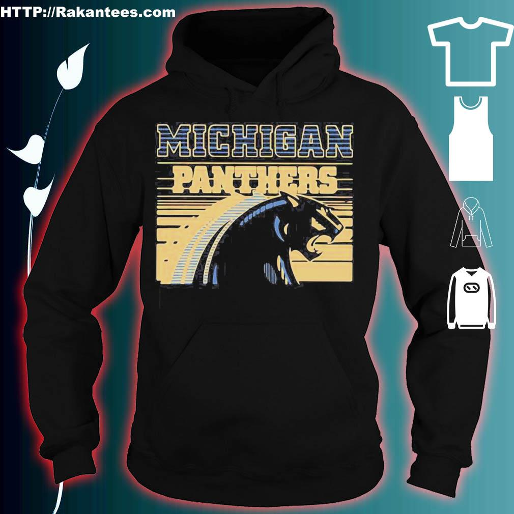 Official Michigan Panther Vintage Shirt hoodie
