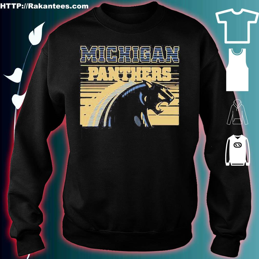 Official Michigan Panther Vintage Shirt sweater