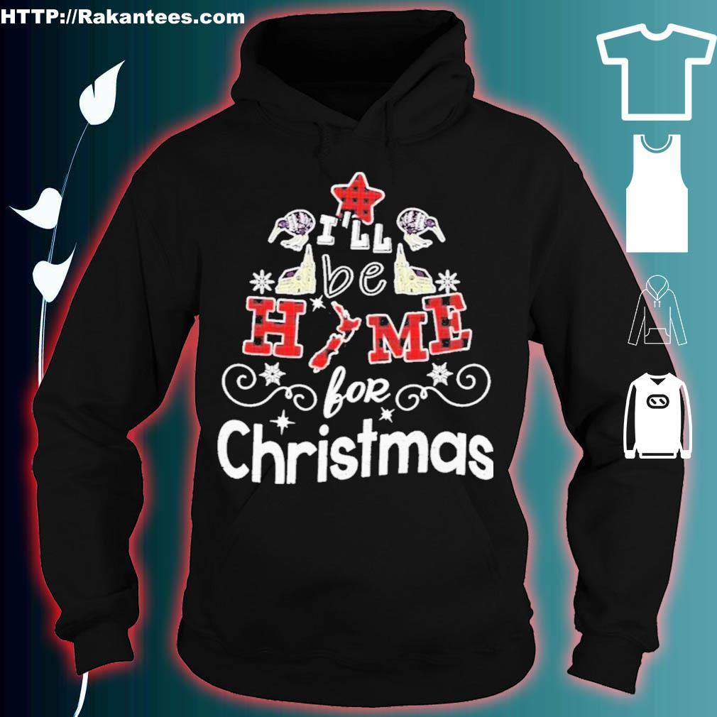 Official New Zealand I'll Be Home For Christmas Shirt hoodie