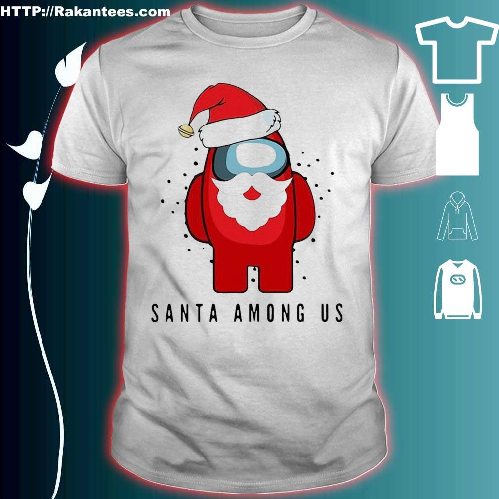 Official Santa Among Us Christmas Shirt