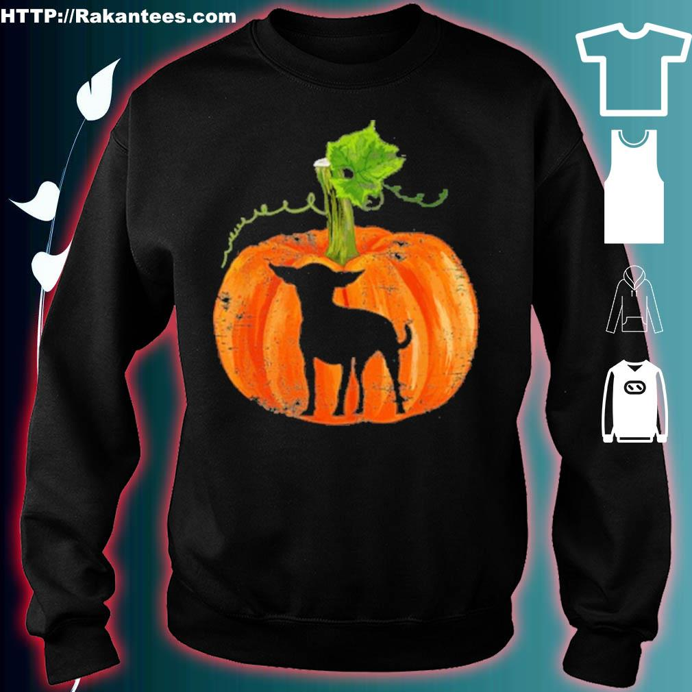 Official Chihuahua In Pumpkin Funny Halloween Dog Lovers Gift Shirt sweater