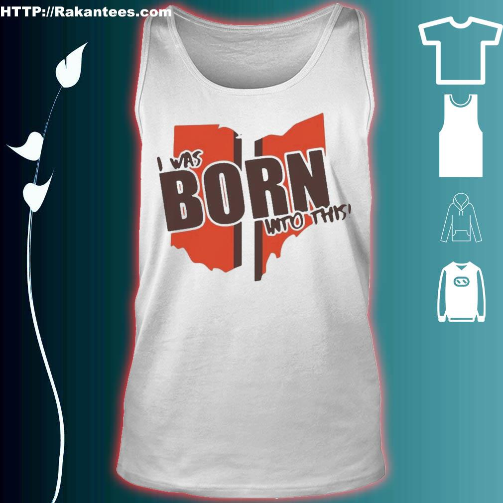 Official I Was Born Into This Born Shirt tank top